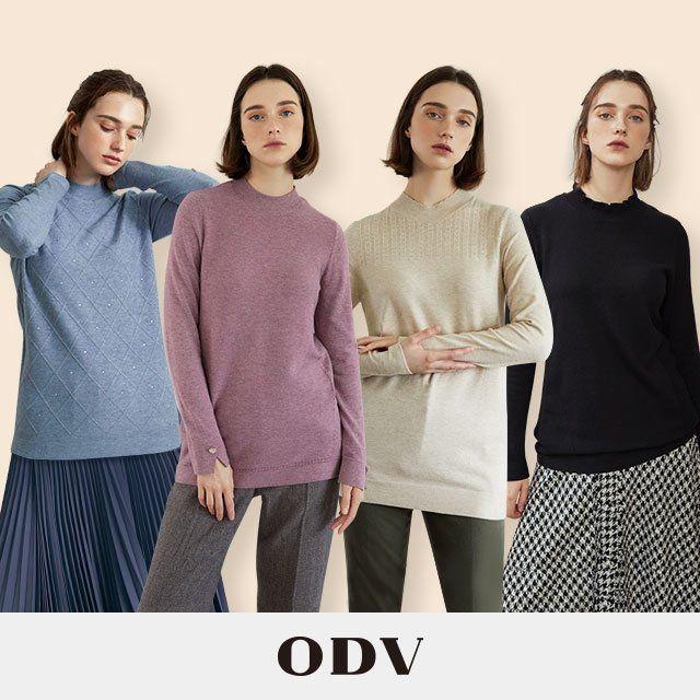 [ODV] 오디브 시그니처 소프트 니트 4종