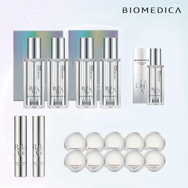 [광클절 특집 최초최대용량] 바이오메디카 DNA100 TGF-b1 세럼 더블구성(무료체험1ml*4)