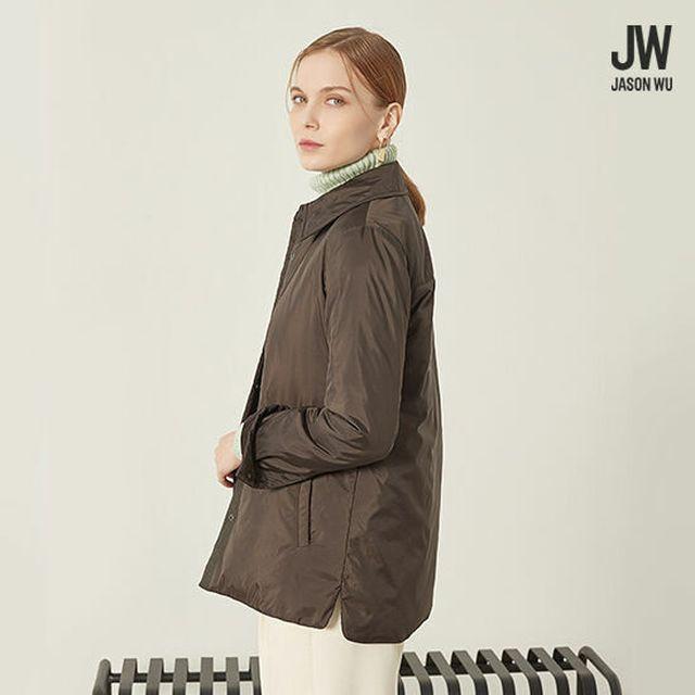 셔츠형 구스(8020)다운점퍼 +가볍고 따뜻하게 지금부터 겨울까지 [21FW최신상]제이슨우 패딩 구스다운 셔츠재킷 1종