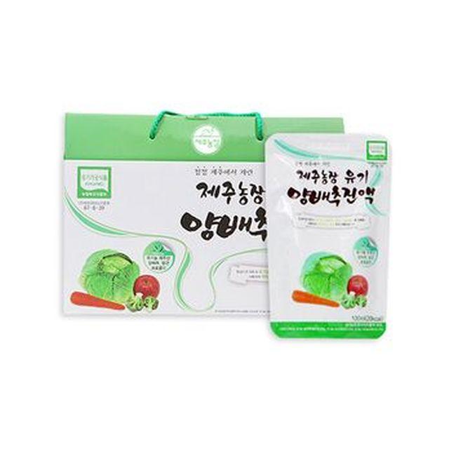 [TV]제주농장 유기 양배추진액 120포